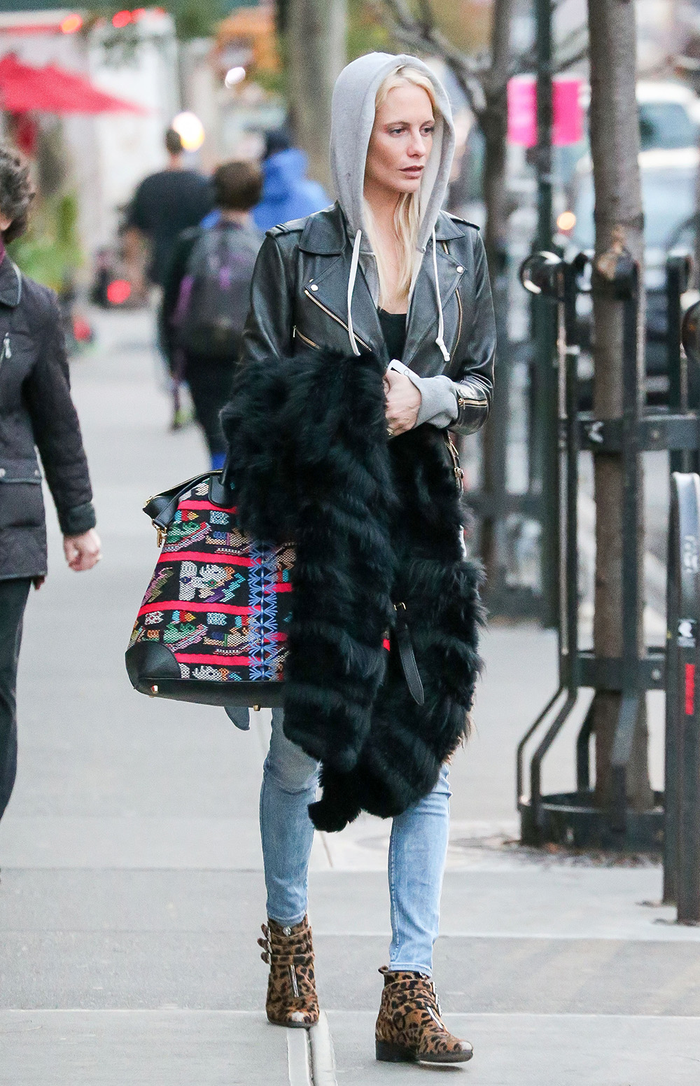 Exclusive... Poppy Delevingne Takes A Stroll Through NYC