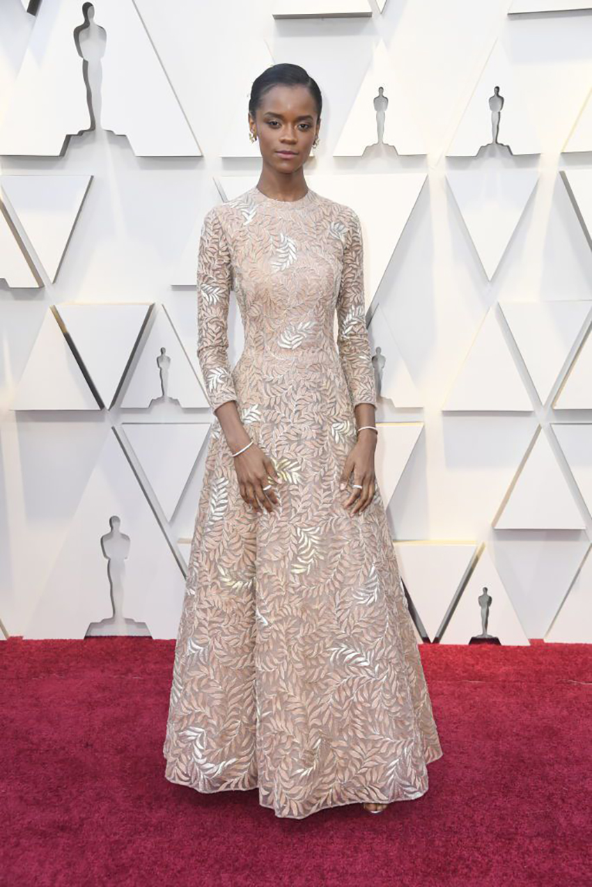 Letitia Wright v Dior Haute Couture